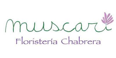 Logotipo Muscari Floristería Chabrera