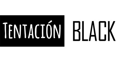 Logotipo Tentación Black