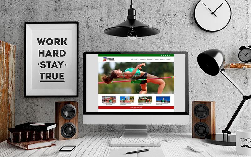 El orgullo de realizar el diseño web de un club de primera